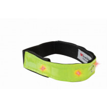 Wowow reflexní oblečení Smart Bar - žlutá se 4 červenými LED diodami