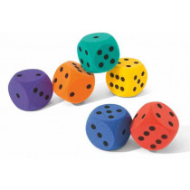 Volley pěnové kostky - 160 mm - 90 g - oranžová