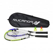 Rucanor rychlost badminton set - modrý / zelený