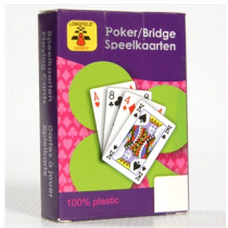 Longfield playingcards plast