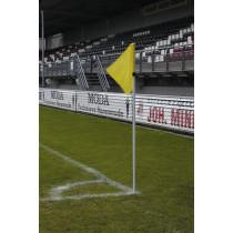 UEFA rohovému praporku tyč bílá 30 (zahrnuje jaro)