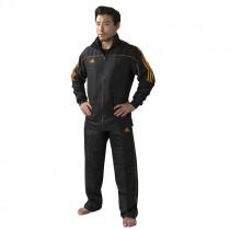 Adidas Team Track tréninkové kalhoty - černá / oranžová