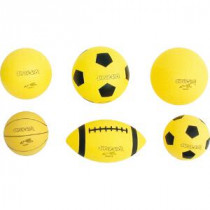 Super -Safe pg míč 21,6 cm - žlutá