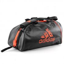 Adidas Super Boxing sportovní taška - černá / oranžová